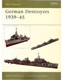 German Destroyers 1939–45, New Vanguard 91, Osprey