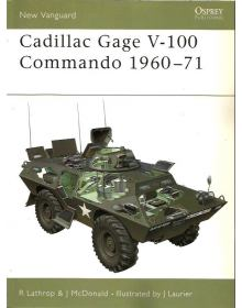 Cadillac Gage V-100 Commando 1960–71, New Vanguard 52, Osprey