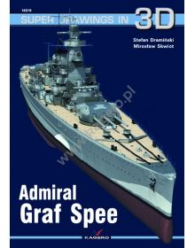 Admiral Graf Spee, Super Drawings in 3D no 19, Kagero Publications