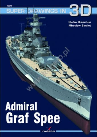 Admiral Graf Spee, Super Drawings in 3D no 19, Kagero
