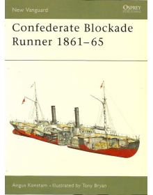Confederate Blockade Runner 1861–65, New Vanguard 92, Osprey