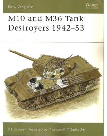 M10 and M36 Tank Destroyers 1942–53, New Vanguard 57, Osprey