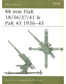 88 mm FlaK 18/36/37/41 and PaK 43 1936–45, New Vanguard 46, Osprey