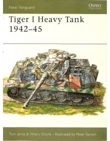 Tiger I Heavy Tank 1942–45, New Vanguard 5, Osprey