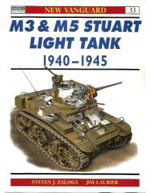 M3 & M5 Stuart Light Tank 1940–45, New Vanguard 33, Osprey