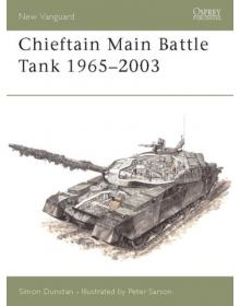 Chieftain Main Battle Tank 1965–2003, New Vanguard 80, Osprey