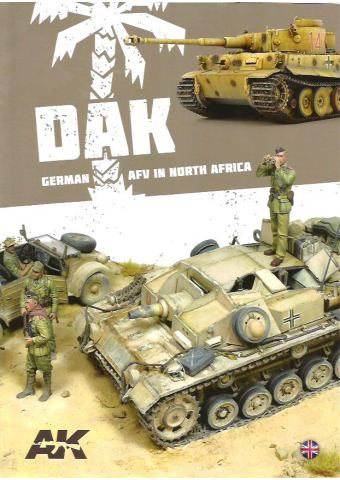 DAK - German AFV in North Africa, AK Interactive