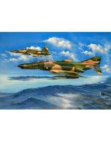 Aviation Art Painting ''Over Thasos Island'' - Canvas print 58 X 43 cm.