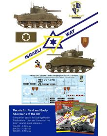 First and Early Israeli Sherman Tanks (1/48), SabIngaMartin