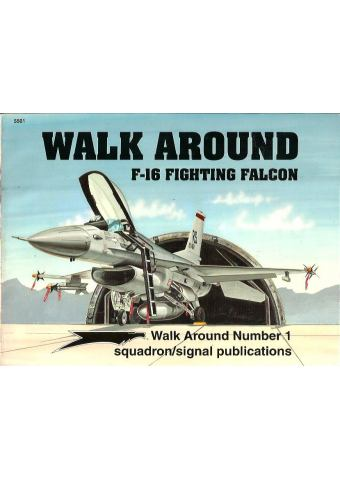 F-16 Fighting Falcon Walk Around, Squadron/Signal