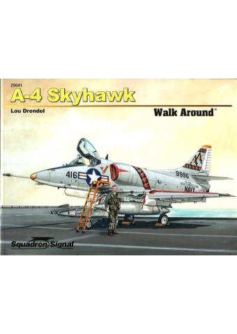 A-4 Skyhawk Walk Around, Squadron/Signal