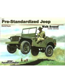Pre-Standardized Jeep Walk Around, Squadron/Signal