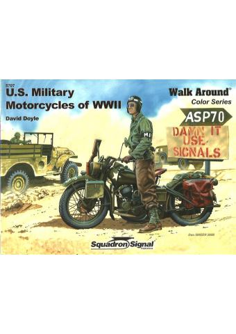 U.S. Military Motorcycles of WWII Walk Around, Squadron/Signal