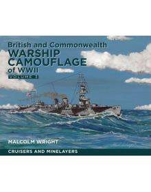 British and Commonwealth Warship Camouflage of WW II – Vol 3, Seaforth
