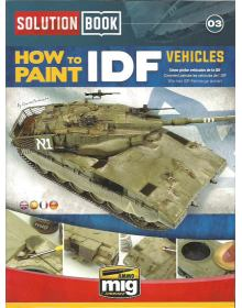 How to Paint IDF Vehicles, Solution Book 03, AMMO