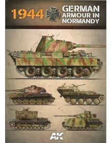1944 German Armour in Normandy – Camouflage Profile Guide, AK Interactive
