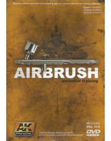 Airbrush Essential Training (NTSC), AK Interactive