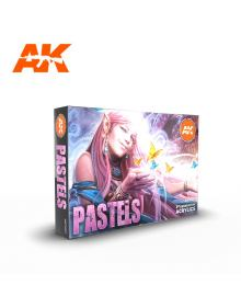 Pastels Colors Set, AK Interactive