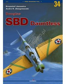 Douglas SBD Dauntless, Monographs No 34, Kagero