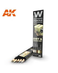 Dirt & Marks Set, AK Interactive
