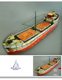 Cargo Ship 1938 Brockley Combe, Navarino Models