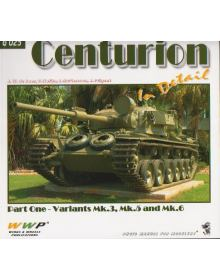 Centurion in Detail Part 1, Wings & Wheels Publications (WWP)