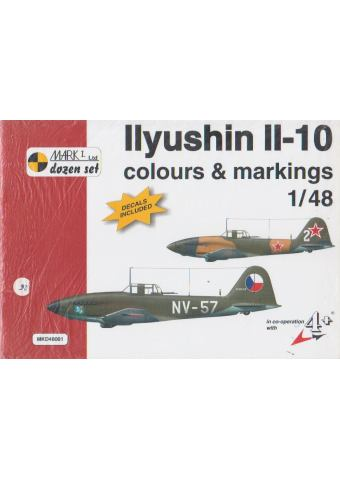Ilyushin Il-10 Colours & Markings 1/48
