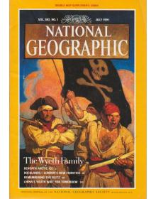 National Geographic Vol 180 No 01 (1991/07)
