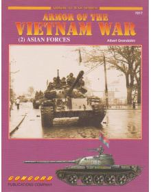 Armor of the Vietnam War (2): Asian Forces, Armor at War no 7017, Concord
