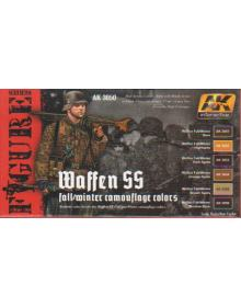 Waffen SS Fall/Winter Camouflage Colours, AK Interactive