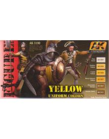 Yellow Uniform Colors, AK Interactive