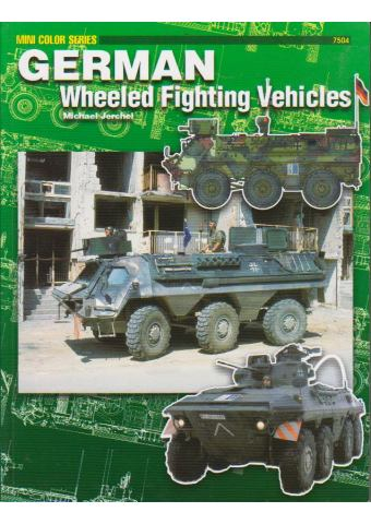 German Wheeled Fighting Vehicles, Mini Color Series 7504, Concord