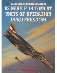 US Navy F-14 Tomcat Units of Operation IRAQI FREEDOM, Combat Aircraft 52, Osprey