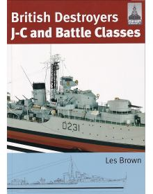 British Destroyers J-C and Battle Classes, Shipcraft No 21
