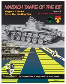 Magach Tanks of the IDF - Volume 3, SabIngaMartin