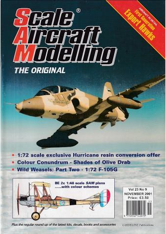 Scale Aircraft Modelling 2001/11 Vol 23 No 09
