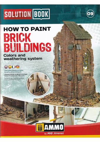 How to Paint Brick Buildings, Solution Book 09, AMMO
