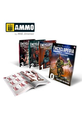 Complete Encyclopedia of Figures Modelling Techniques, Ammo by Mig Jimenez