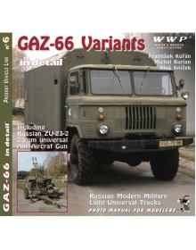 GAZ-66 Variants in detail, WWP