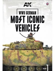 WWII German Most Iconic Vehicles Vol. 1, AK Interactive