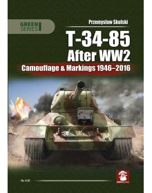 T-34-85 After WW2: Camouflage & Markings 1946-2016, MMP Books