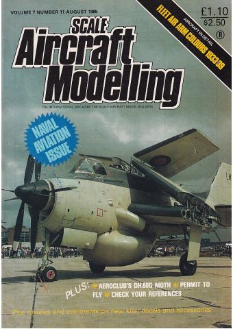 Scale Aircraft Modelling 1985/08 Vol 07 No 11
