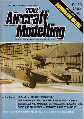 Scale Aircraft Modelling 1986/04 Vol 08 No 07